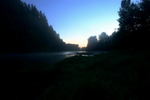 Snoqualmie River Sunrise - Product Image