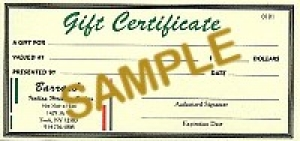$10 Gift Certificate - Product Image