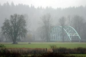 Rainy Day at the Novelty Bridge - Product Image