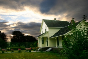 Dougherty House Sunset - Product Image