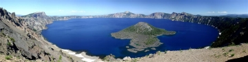 Crater Lake Panorama - Product Image